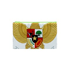 National Emblem Of Indonesia  Cosmetic Bag (xs) by abbeyz71