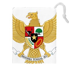 National Emblem Of Indonesia  Drawstring Pouches (xxl) by abbeyz71