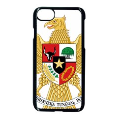 National Emblem Of Indonesia  Apple Iphone 7 Seamless Case (black) by abbeyz71