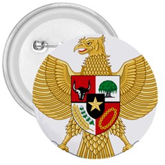 National Emblem Of Indonesia  3  Buttons by abbeyz71