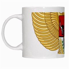 National Emblem Of Indonesia  White Mugs by abbeyz71