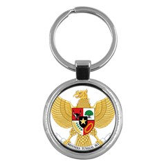 National Emblem Of Indonesia  Key Chains (round)  by abbeyz71
