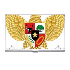 National Emblem Of Indonesia  Business Card Holders by abbeyz71