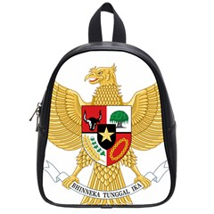 National Emblem Of Indonesia  School Bags (small)  by abbeyz71