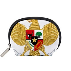 National Emblem Of Indonesia  Accessory Pouches (small)  by abbeyz71