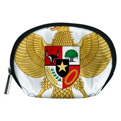 National Emblem Of Indonesia  Accessory Pouches (medium)  by abbeyz71
