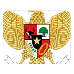 National Emblem Of Indonesia  Double Sided Flano Blanket (large)  by abbeyz71