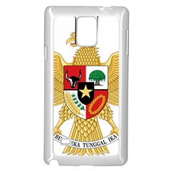 National Emblem Of Indonesia  Samsung Galaxy Note 4 Case (white) by abbeyz71
