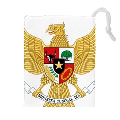 National Emblem Of Indonesia  Drawstring Pouches (extra Large) by abbeyz71