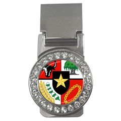 Shield Of National Emblem Of Indonesia Money Clips (cz)  by abbeyz71