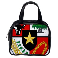 Shield Of National Emblem Of Indonesia Classic Handbags (one Side) by abbeyz71