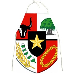 Shield Of National Emblem Of Indonesia Full Print Aprons by abbeyz71