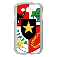 Shield Of National Emblem Of Indonesia Samsung Galaxy Grand Duos I9082 Case (white) by abbeyz71