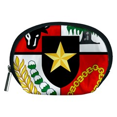 Shield Of National Emblem Of Indonesia Accessory Pouches (medium)  by abbeyz71