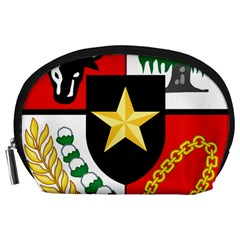 Shield Of National Emblem Of Indonesia Accessory Pouches (large)  by abbeyz71