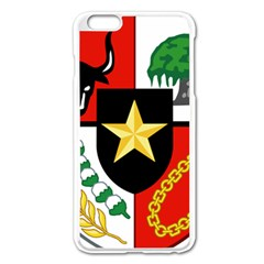 Shield Of National Emblem Of Indonesia Apple Iphone 6 Plus/6s Plus Enamel White Case by abbeyz71