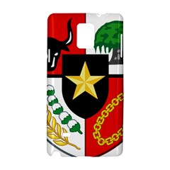 Shield Of National Emblem Of Indonesia Samsung Galaxy Note 4 Hardshell Case