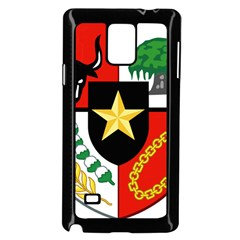 Shield Of National Emblem Of Indonesia Samsung Galaxy Note 4 Case (black) by abbeyz71