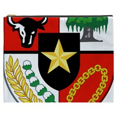 Shield Of National Emblem Of Indonesia  Cosmetic Bag (xxxl)  by abbeyz71