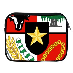 Shield Of National Emblem Of Indonesia  Apple Ipad 2/3/4 Zipper Cases by abbeyz71