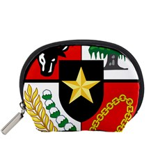Shield Of National Emblem Of Indonesia  Accessory Pouches (small)  by abbeyz71