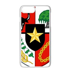 Shield Of National Emblem Of Indonesia  Apple Iphone 7 Plus White Seamless Case by abbeyz71