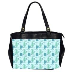 Seamless Floral Background  Office Handbags (2 Sides)  by TastefulDesigns