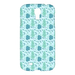 Seamless Floral Background  Samsung Galaxy S4 I9500/i9505 Hardshell Case by TastefulDesigns