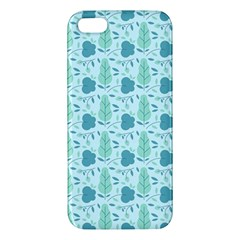 Seamless Floral Background  Iphone 5s/ Se Premium Hardshell Case by TastefulDesigns