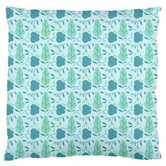 Seamless Floral Background  Standard Flano Cushion Case (one Side) by TastefulDesigns