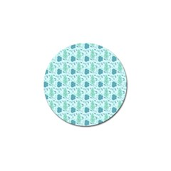 Seamless Floral Background  Golf Ball Marker (4 Pack) by TastefulDesigns