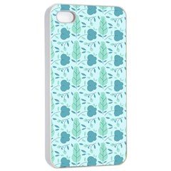 Seamless Floral Background  Apple Iphone 4/4s Seamless Case (white) by TastefulDesigns