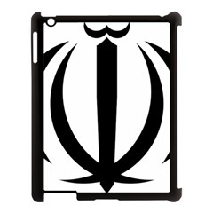 Emblem Of Iran Apple Ipad 3/4 Case (black) by abbeyz71