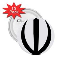 Emblem Of Iran 2 25  Buttons (10 Pack)  by abbeyz71