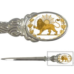 Lion & Sun Emblem Of Persia (iran) Letter Openers by abbeyz71