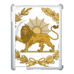 Lion & Sun Emblem Of Persia (iran) Apple Ipad 3/4 Case (white) by abbeyz71