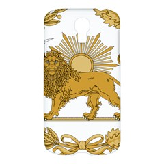 Lion & Sun Emblem Of Persia (iran) Samsung Galaxy S4 I9500/i9505 Hardshell Case by abbeyz71