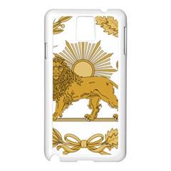 Lion & Sun Emblem Of Persia (iran) Samsung Galaxy Note 3 N9005 Case (white)