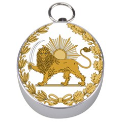 Lion & Sun Emblem Of Persia (iran) Silver Compasses by abbeyz71