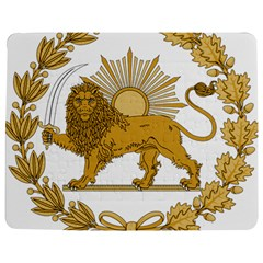 Lion & Sun Emblem Of Persia (iran) Jigsaw Puzzle Photo Stand (rectangular) by abbeyz71