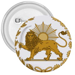 Lion & Sun Emblem Of Persia (iran) 3  Buttons by abbeyz71