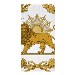 Lion & Sun Emblem Of Persia (iran) Shower Curtain 36  X 72  (stall)  by abbeyz71