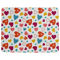 Colorful Bright Hearts Pattern Jigsaw Puzzle Photo Stand (rectangular) by TastefulDesigns