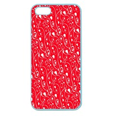 Heart Pattern Apple Seamless iPhone 5 Case (Color) by Vanbedor