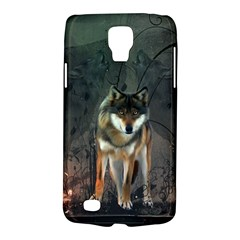 Awesome Wolf In The Night Galaxy S4 Active by FantasyWorld7