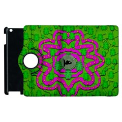 Vegetarian Art With Pasta And Fish Apple Ipad 3/4 Flip 360 Case by pepitasart