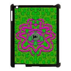 Vegetarian Art With Pasta And Fish Apple Ipad 3/4 Case (black) by pepitasart