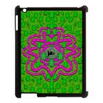 Vegetarian Art With Pasta And Fish Apple iPad 3/4 Case (Black) Front