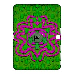 Vegetarian Art With Pasta And Fish Samsung Galaxy Tab 4 (10 1 ) Hardshell Case  by pepitasart
