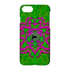 Vegetarian Art With Pasta And Fish Apple Iphone 7 Hardshell Case by pepitasart
